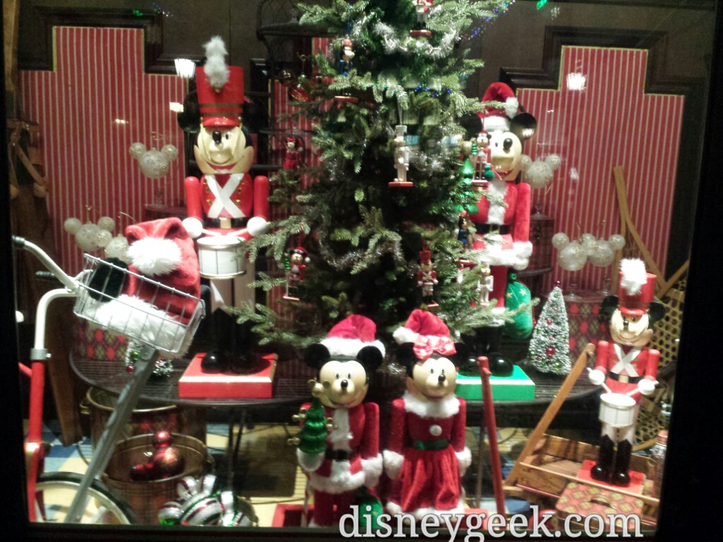 Nutcrackers in the Five & Dime window on #BuenaVistaStreet