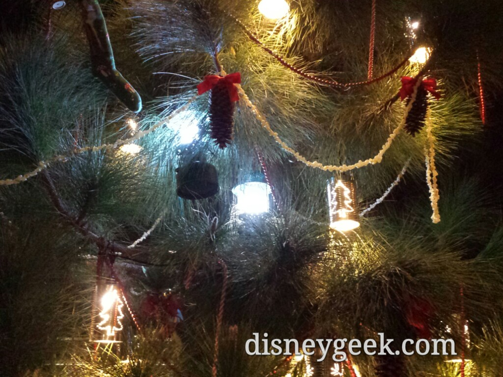 Close-up of a #Christmas tree in the Grizzly Peak Airfield
