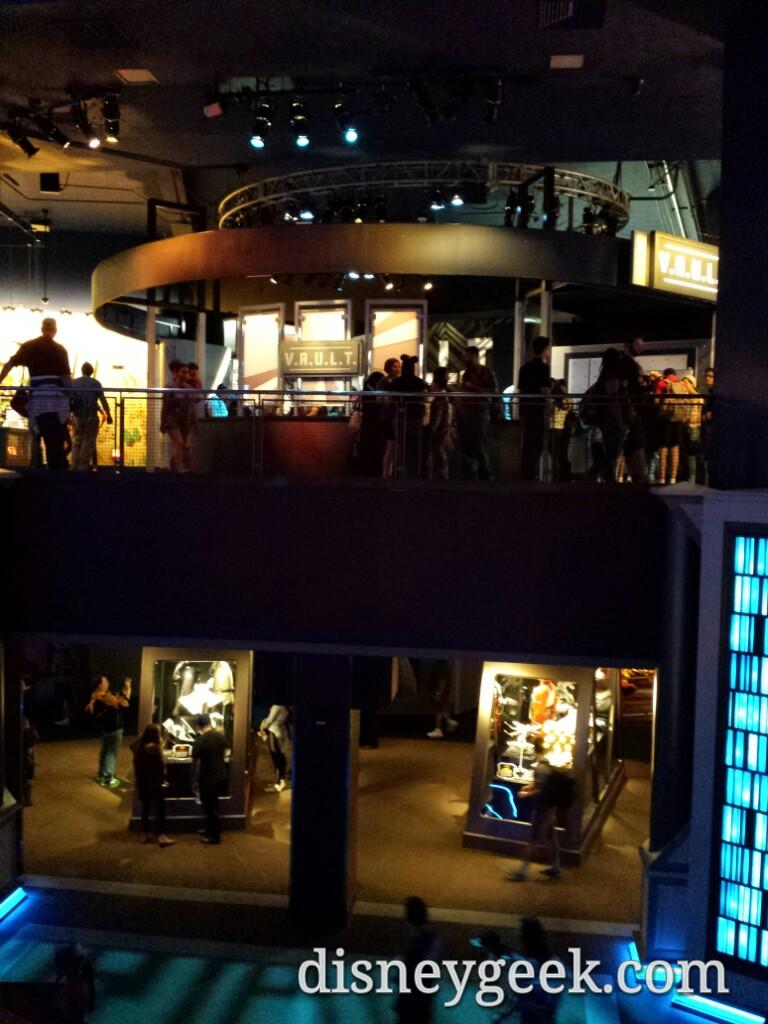Ground floor #StarWars upper floor #Marvel @ Tomorrowland Expo Center #Disneyland