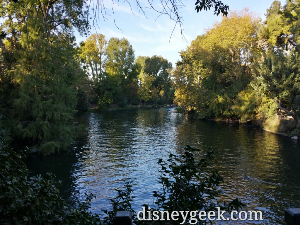 Will be interesting to see how this view changes #Disneyland Rivers of America