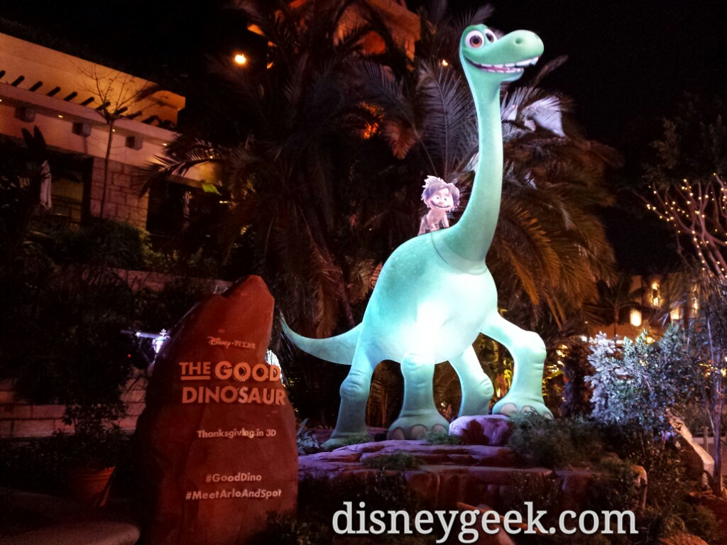 #GoodDino photo spot in Downtown Disney near Rain Forest Cafe