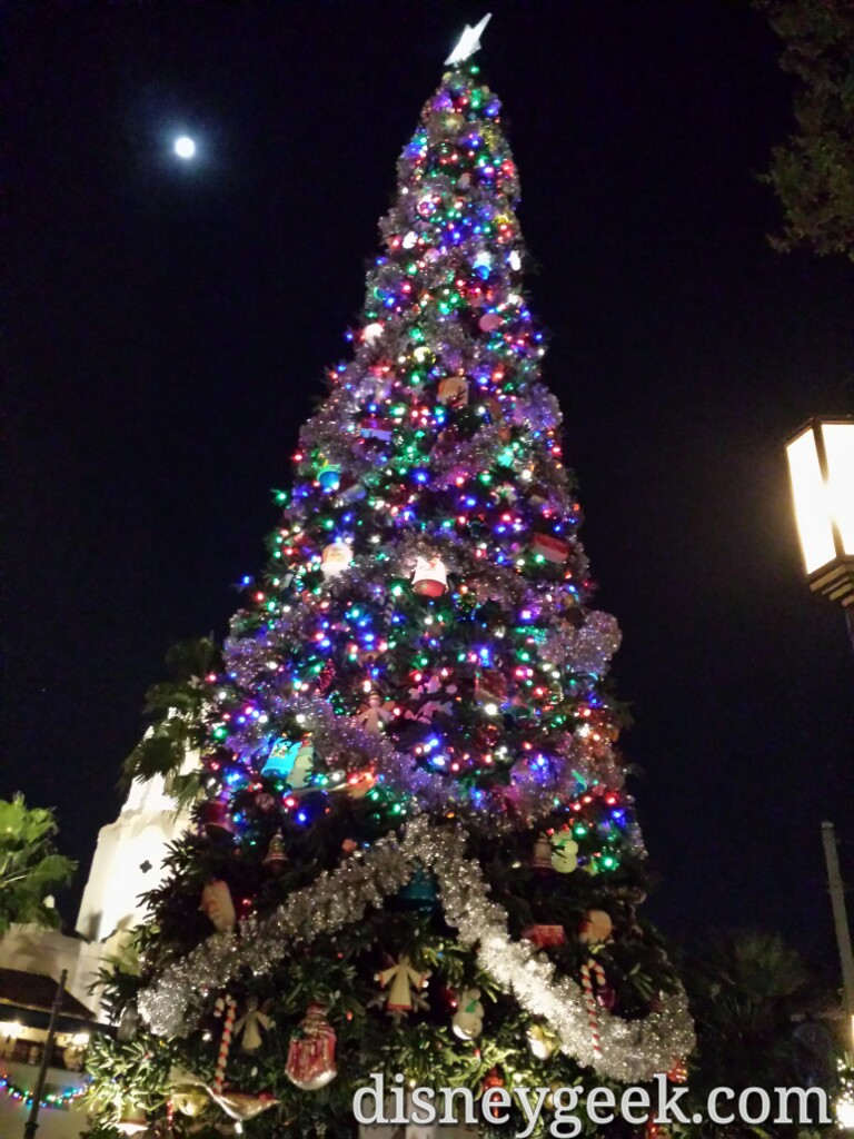 The bottom portion of the #BuenaVistaStreet tree is out this evening