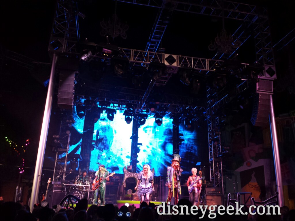 Passing by the Diamond #MadTParty at Disney California Adventure