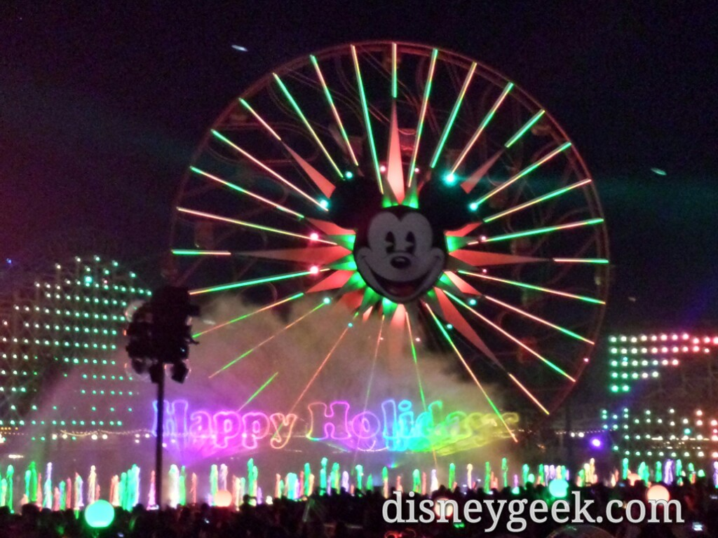 World of Color – Winter Dreams  #DisneyHolidays
