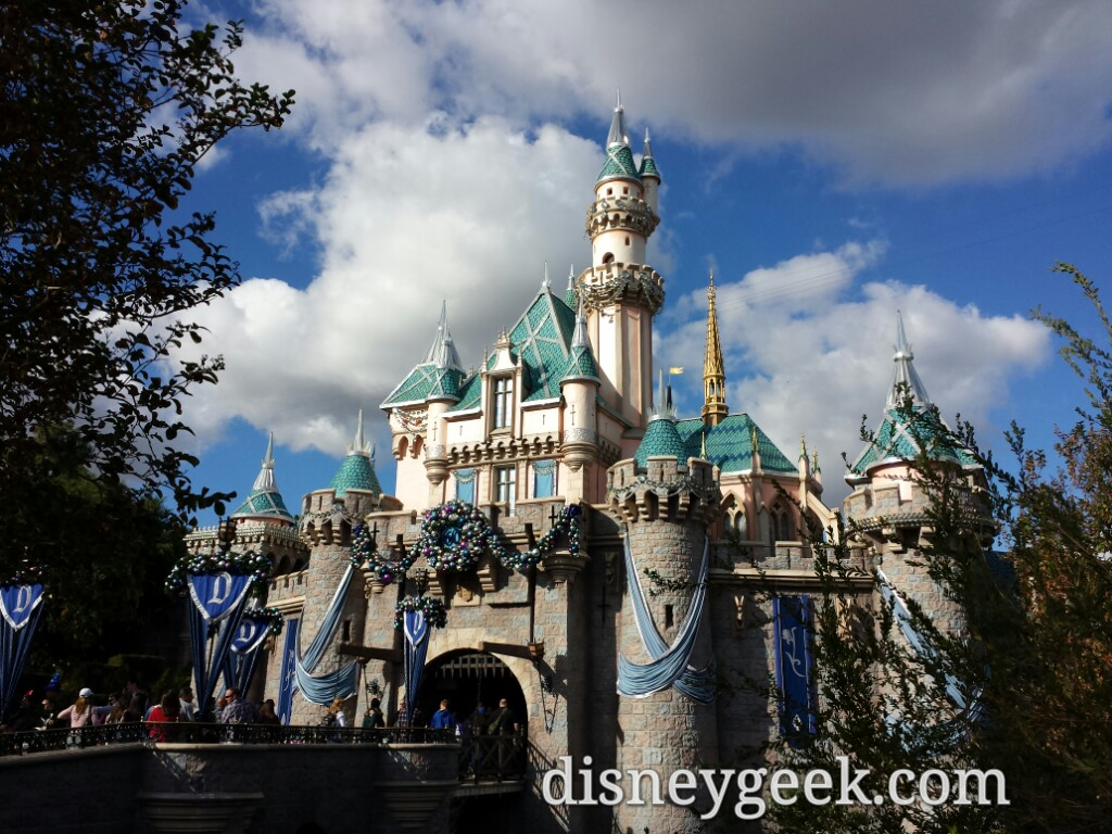 #Disneyland Sleeping Beauty Castle this afternoon