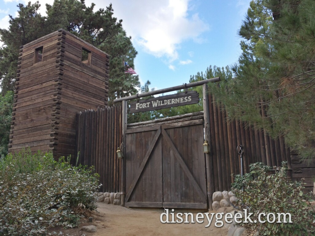 Fort Wilderness on Tom Sawyer Island #Disneyland