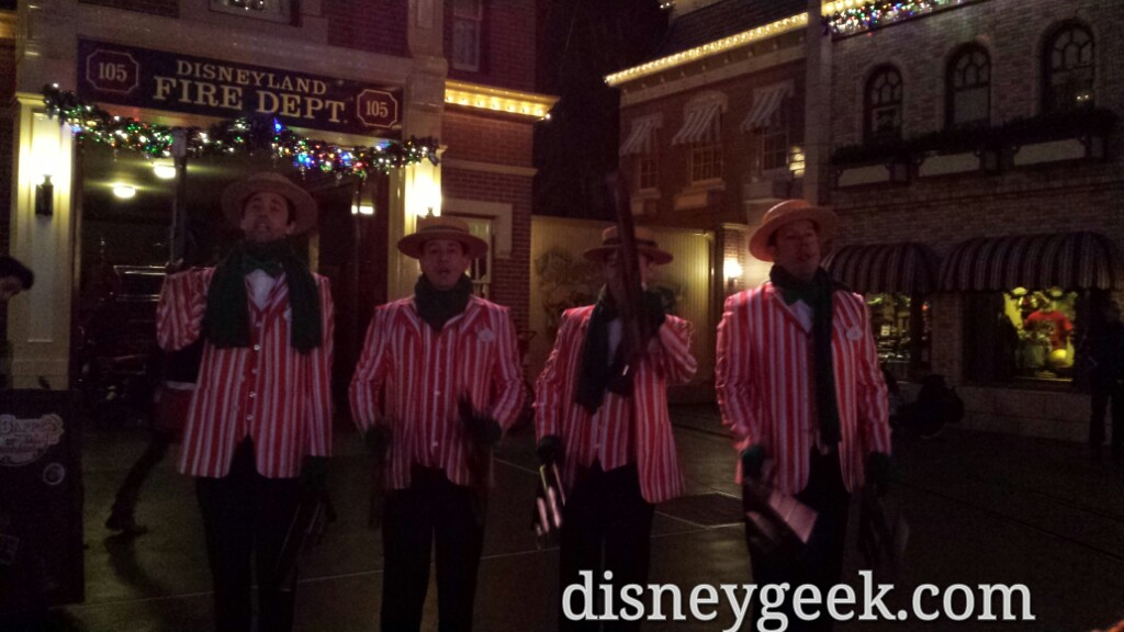 The Dapper Dans of #Disneyland