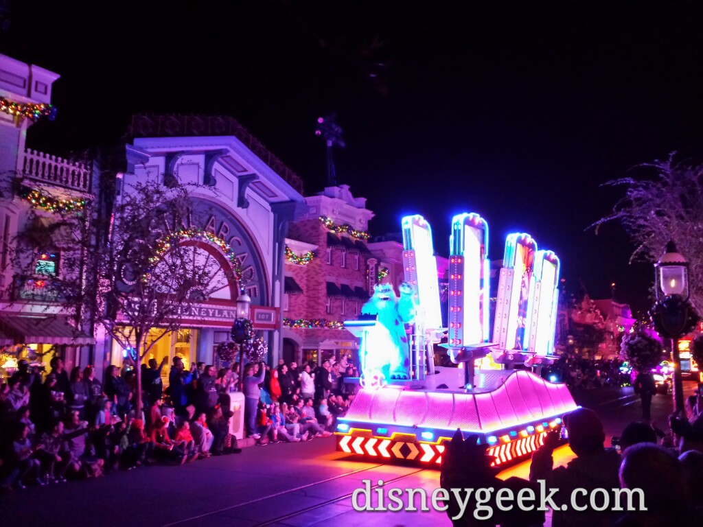Monsters Inc – Paint the Night Parade #Disneyland60