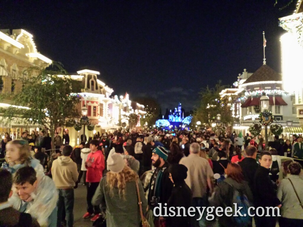 Back to Main Street for round two of #DisneylandForever