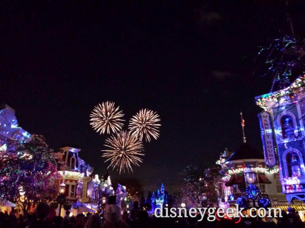 Mickey fireworks #DisneylandForever #Disneyland60