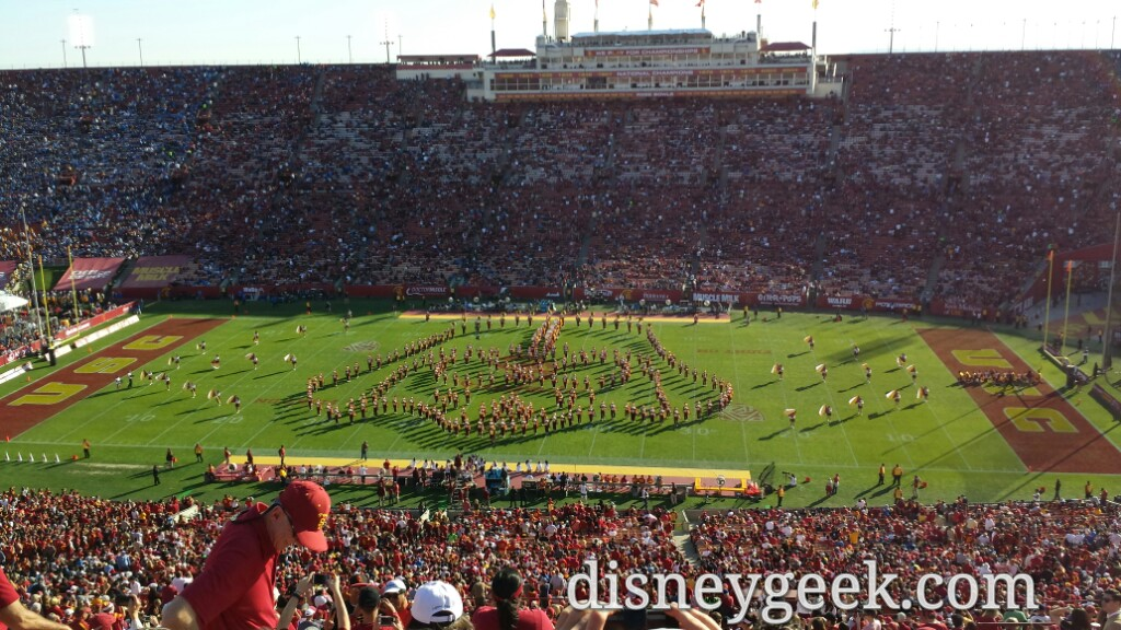 #DarthVader #StarWars USC Band #FightOn