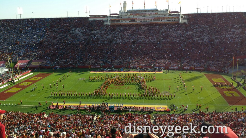 #StarWars USC Band – George Lucas is a USC Alum #FightOn