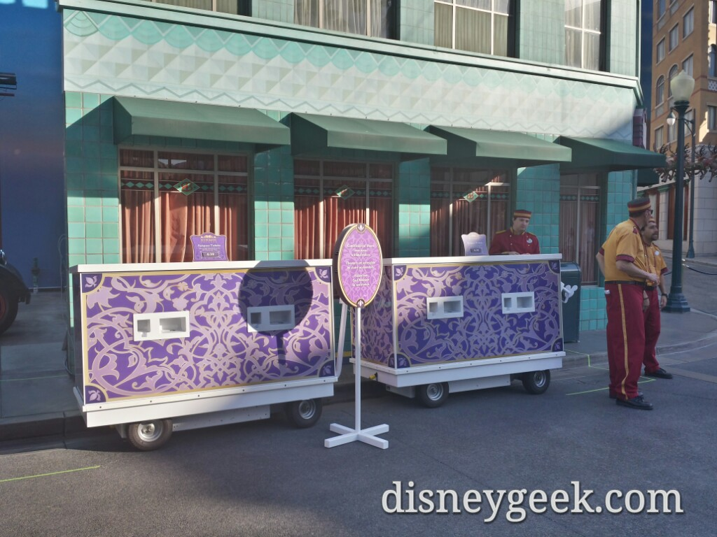 Aladdin has FastPass for the rest of its run at Disney California Adventure