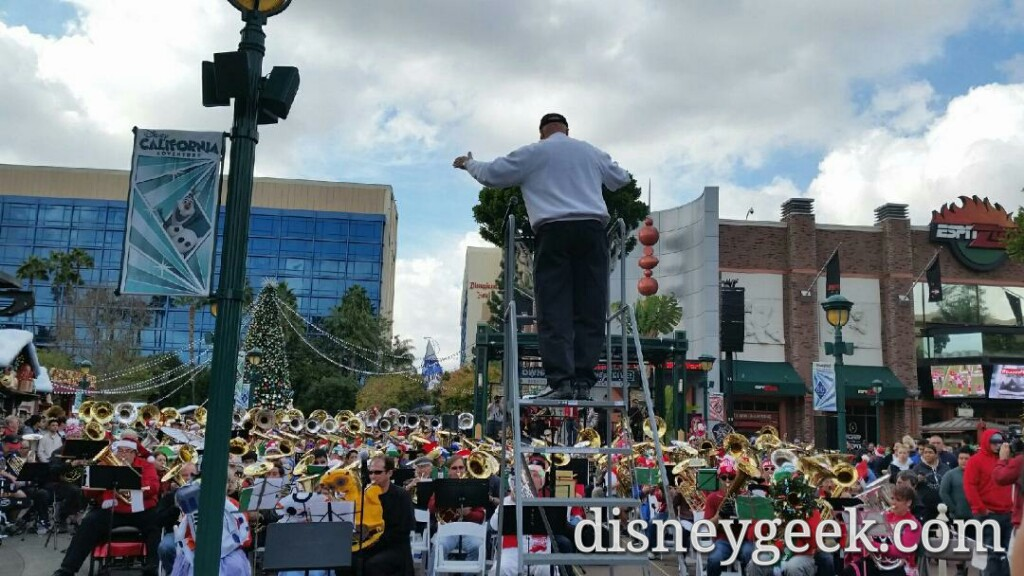Annual Tuba #Christmas @ Downtown Disney today (guest photos)