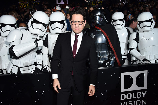 HOLLYWOOD, CA - DECEMBER 14:  Director J.J. Abrams attends the World Premiere of ?Star Wars: The Force Awakens? at the Dolby, El Capitan, and TCL Theatres on December 14, 2015 in Hollywood, California.  (Photo by Alberto E. Rodriguez/Getty Images for Disney)