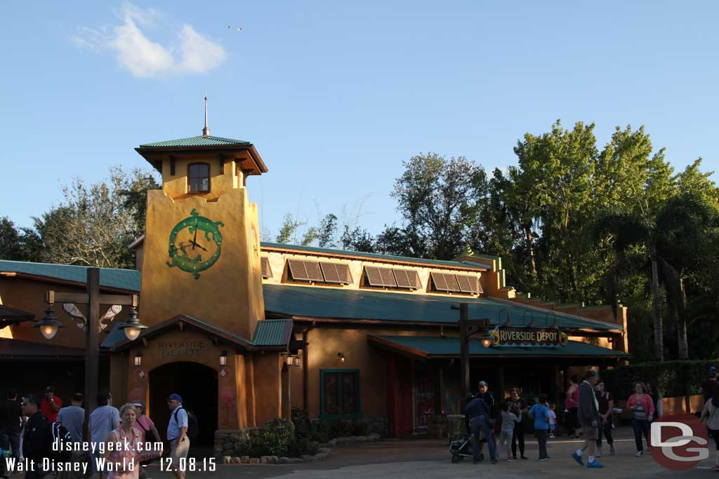 Riverside Depot at Disney's Animal Kingdom