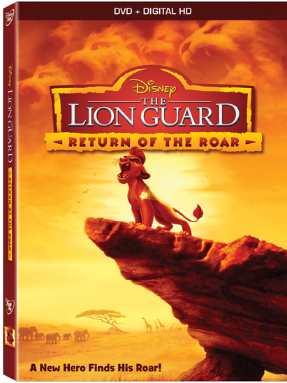 The Lion Guard: Return Of The Roar on Disney DVD February 23rd