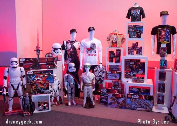 Star Wars: The Force Awakens Press Conference - Merchandise