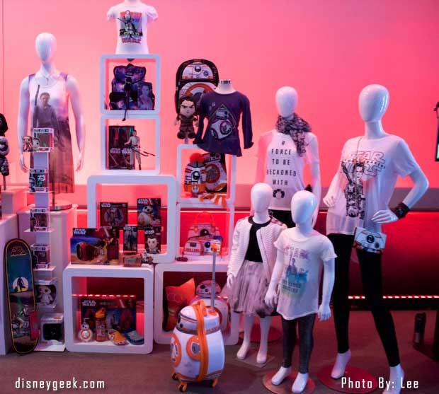 Star Wars: The Force Awakens Press Conference - Merchandise 2
