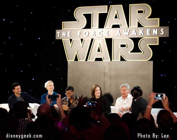 Star Wars: The Force Awakens Press Conference - Panel 2