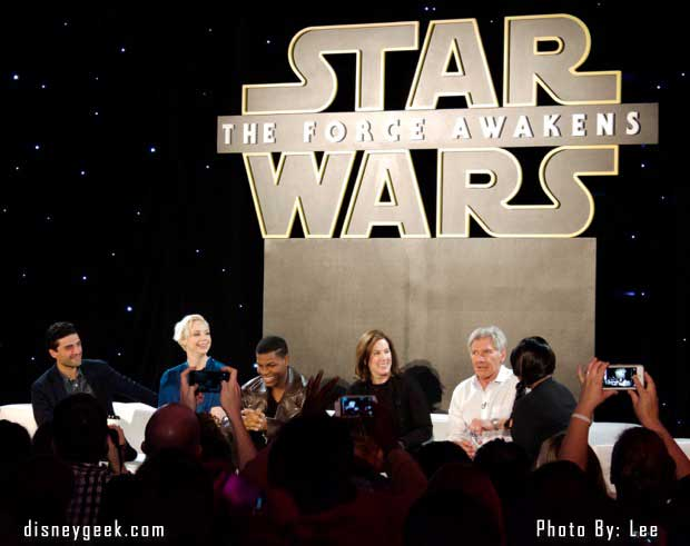 Star Wars: The Force Awakens – Press Conference Quotes/Report