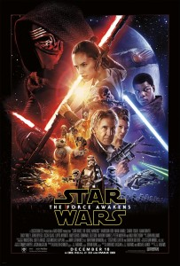 Star Wars: The Force Awakens Press Conference - Poster