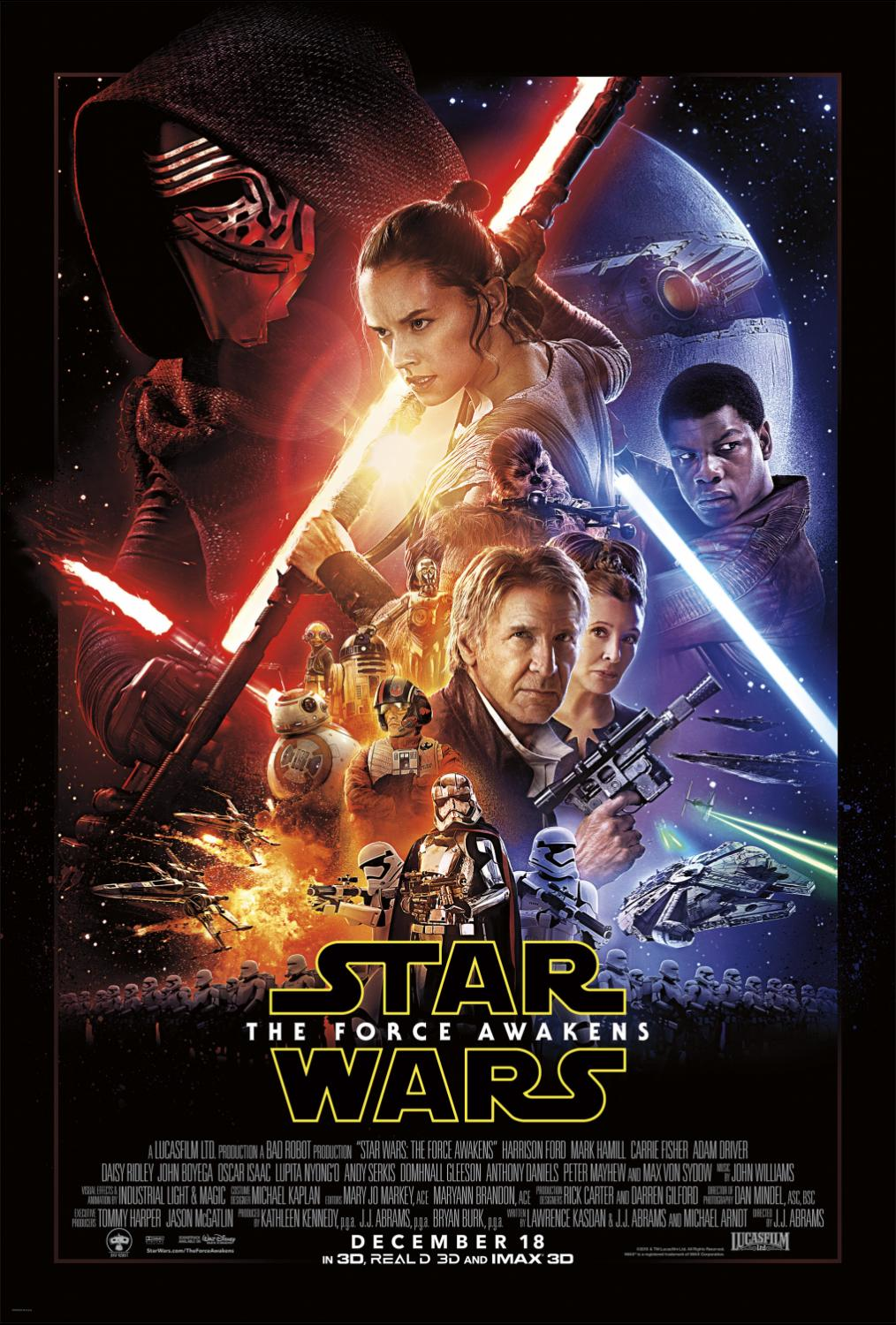 Star Wars: The Force Awakens Continues to Pass Box Office Milestones (Disney Release)
