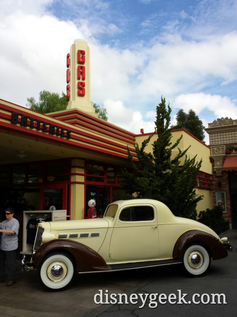 The Packard has returned @ Oswalds on #BuenaVistaStreet in Disney California Adventure