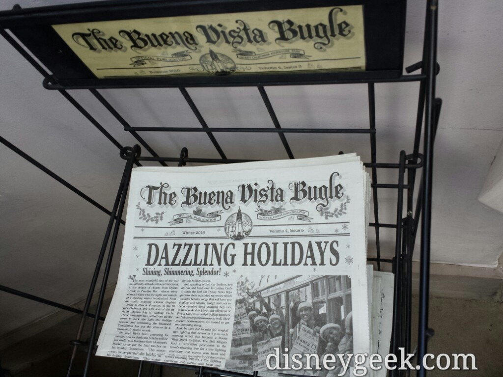 Holiday editions of the Buena Vista Bugle on news stands now