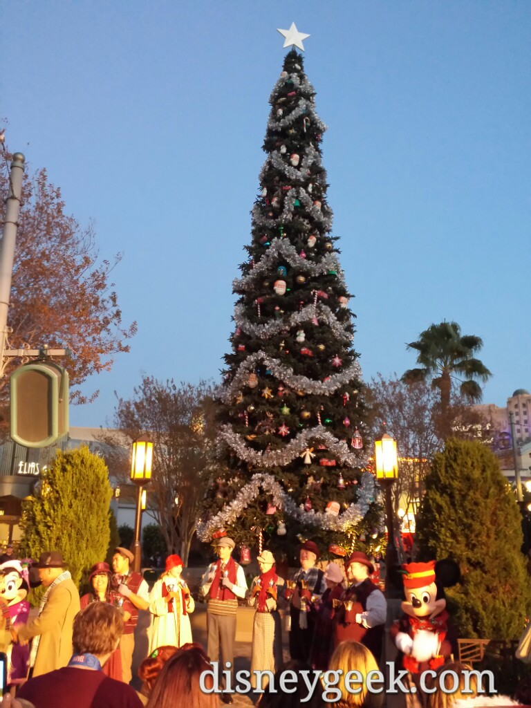 Time for the #BuenaVistaStreet Tree Lighting
