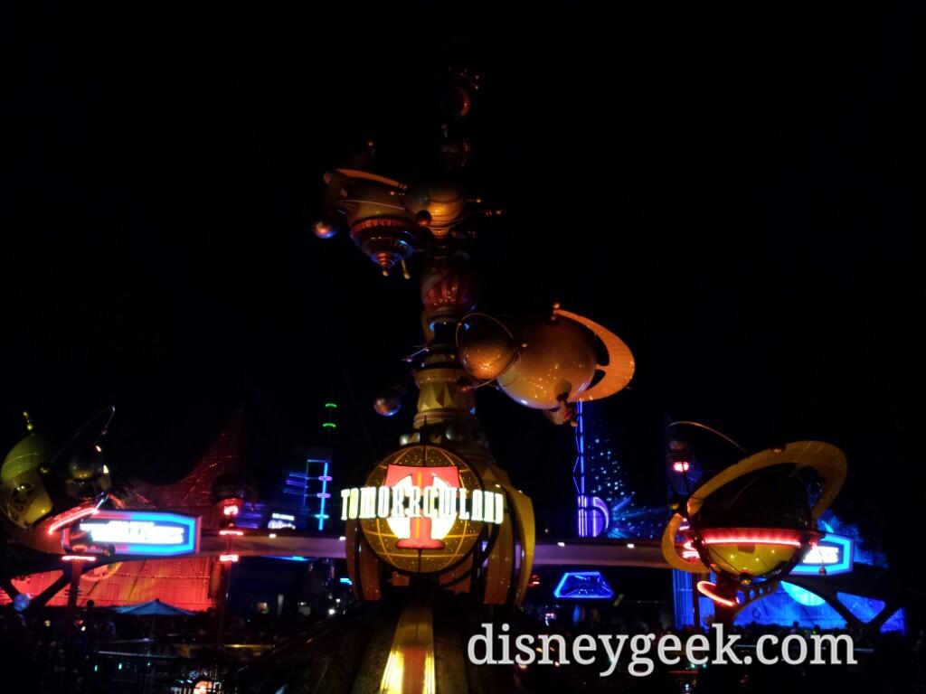 Tomorrowland entrance #Disneyland