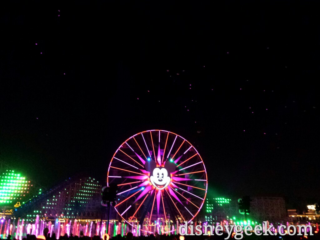 World of Color – Winter Dreams finale