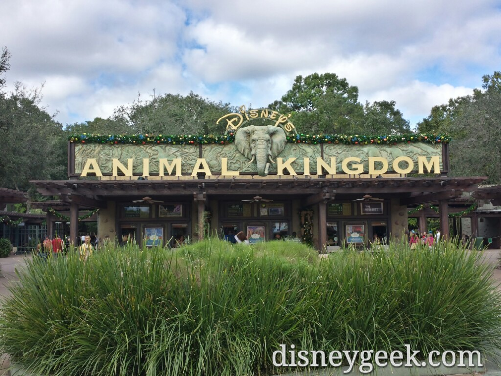 Park 3… Disney's Animal Kingdom