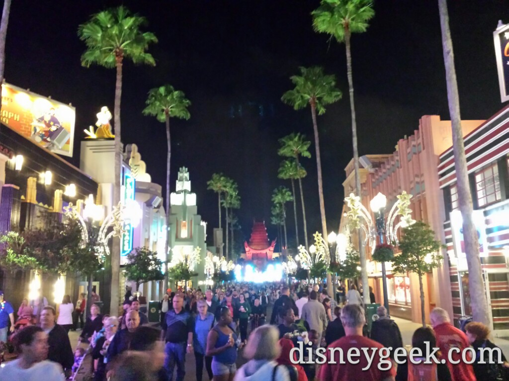 4th park of the day and 11th of the year.. Disney's Hollywood Studios