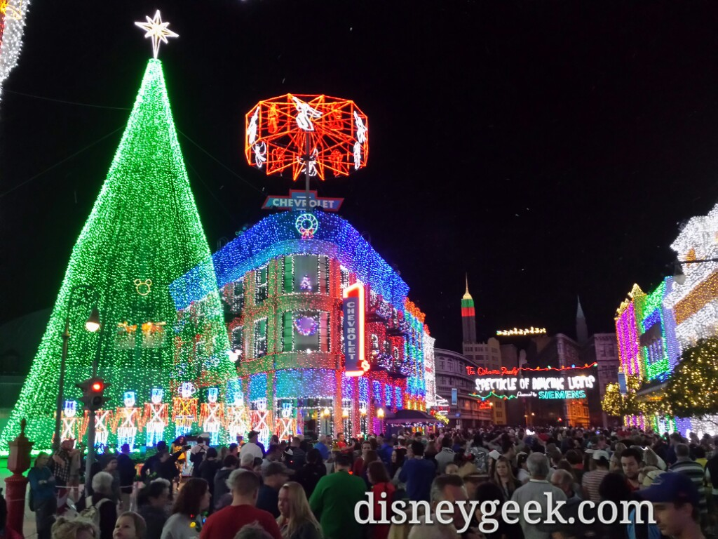 #DisneyHolidays Osborne Lights #WDW