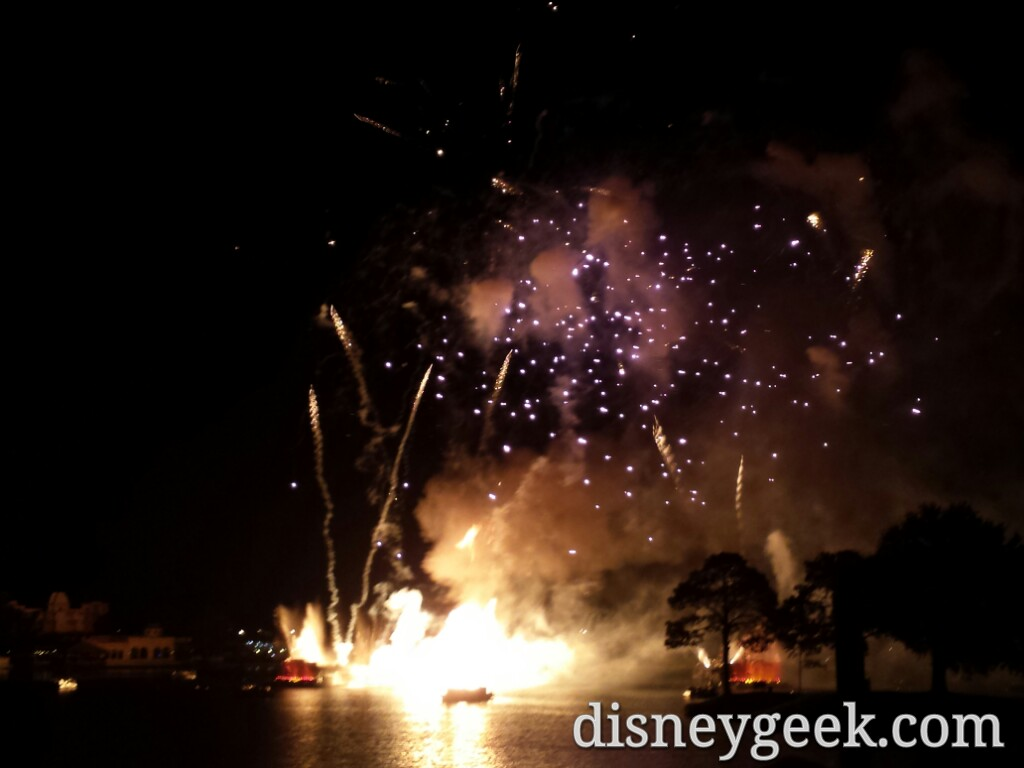 Wrapping up Day 1 with Illuminations Reflections of Earth @ #Epcot
