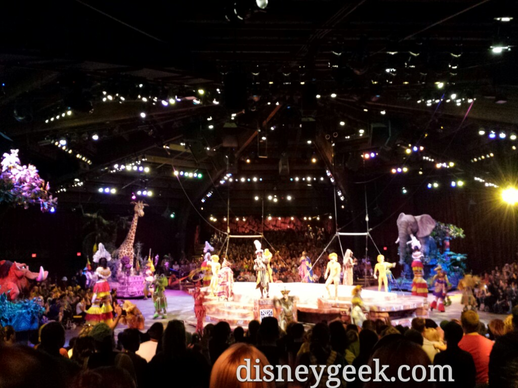 Festival of the Lion King at Disney's Animal Kingdom #WDW