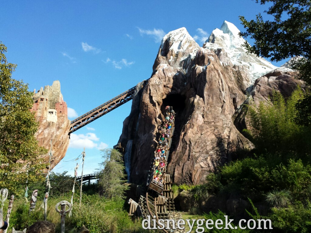 Expedition Everest at Disney's Animal Kingdom #WDW