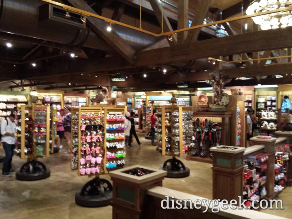 Inside the Riverside Depot at Disney's Animal Kingdom