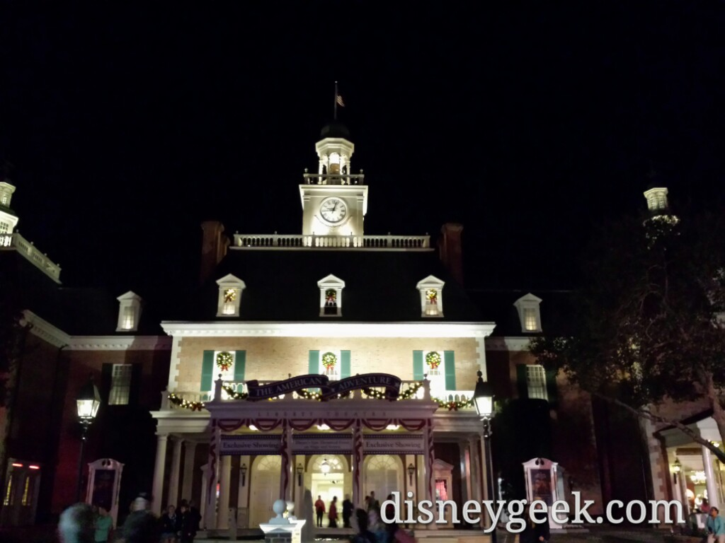 The American Adventure #Epcot