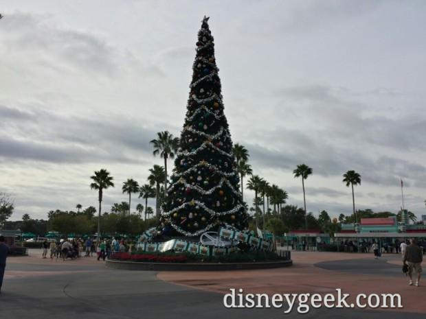 Disney's Hollywood Studios Christmas Tree