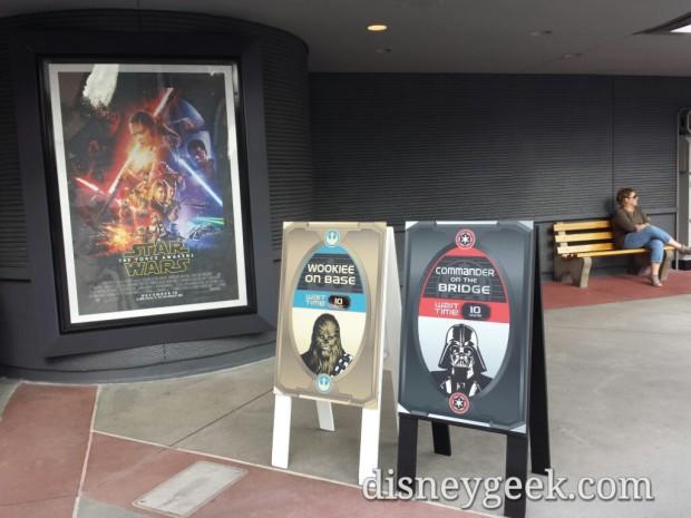 Star Wars Launch Bay waits