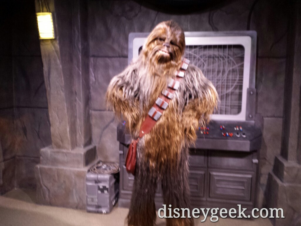 Chewbacca in the #StarWars Launch Bay