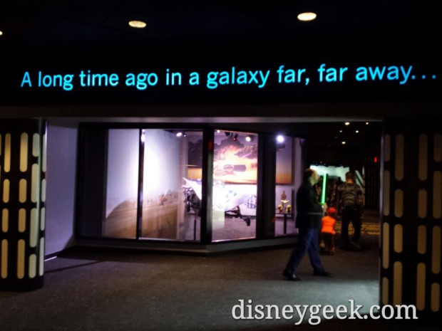 Entering Star Wars Launch Bay
