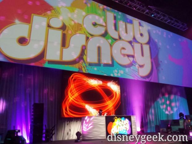 A DJ in Club Disney
