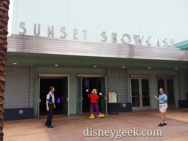 Club Disney at the Sunset Showcase