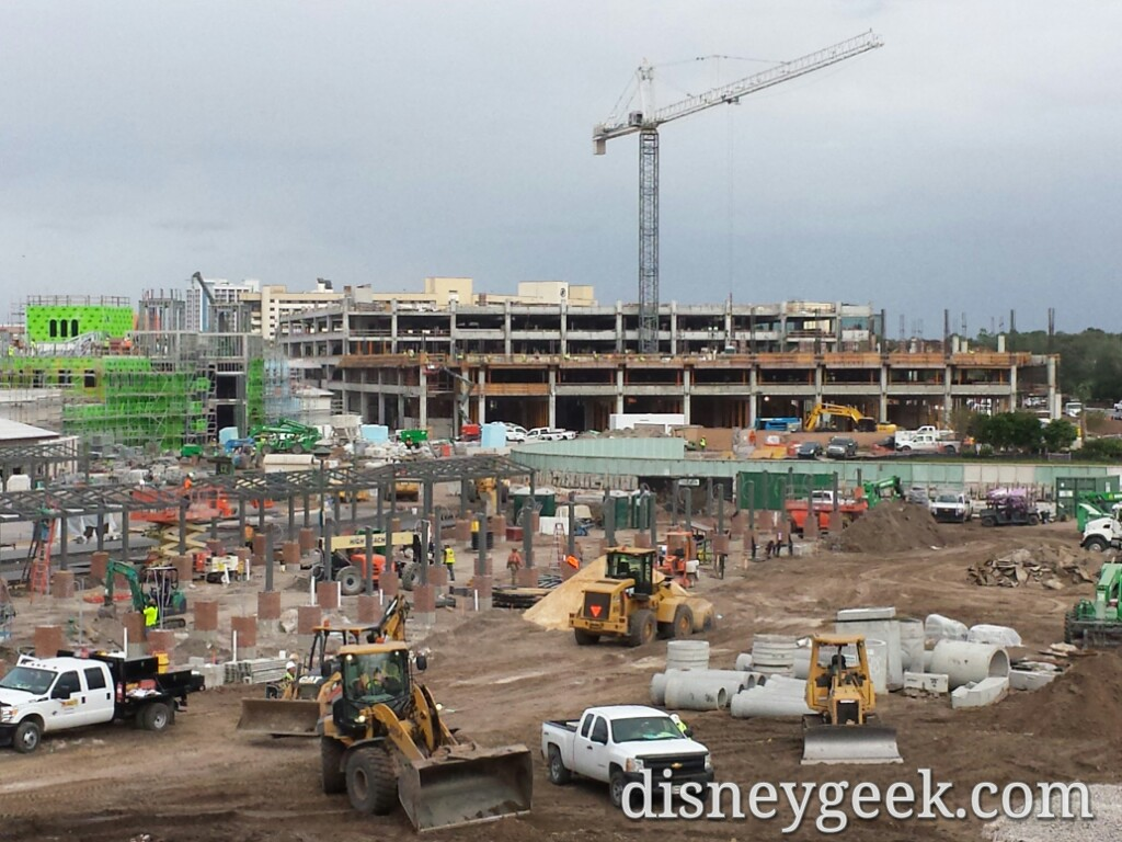 The second parking structure at Disney Springs status