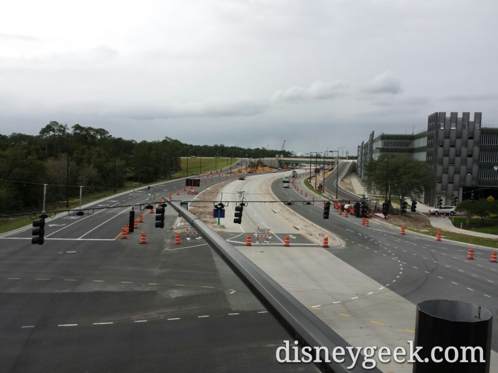 Buena Vista Drive expansion looking toward #Epcot