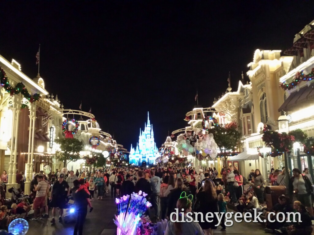 Main Street USA at the Magic Kingdom #WDW