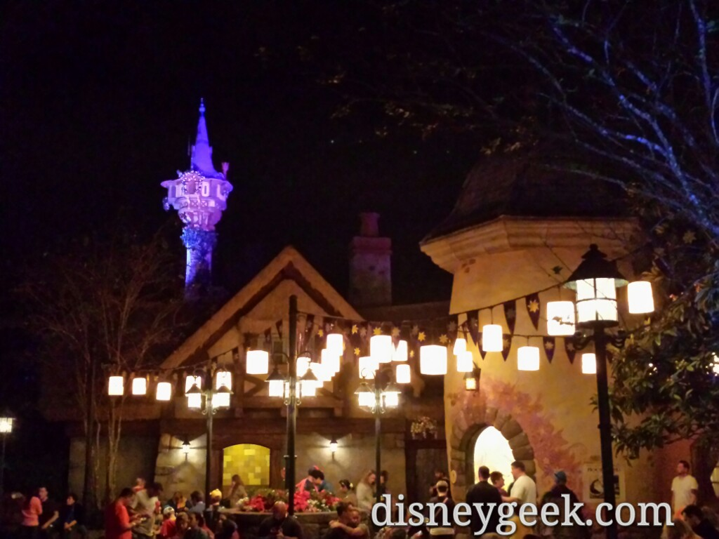 The Tangled Restrooms in the Magic Kingdom #WDW